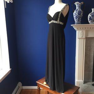 Elegant Backless Gown